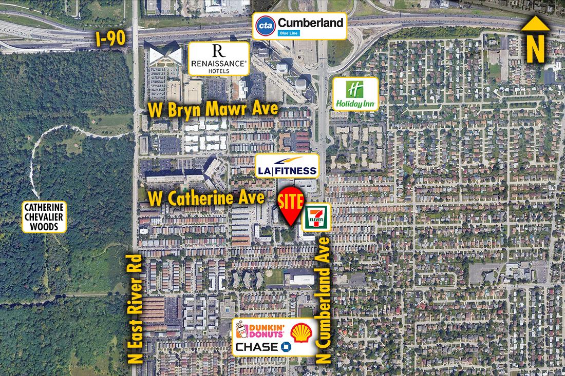 Site 201001, 8503 W. Catherine Ave., Chicago, IL