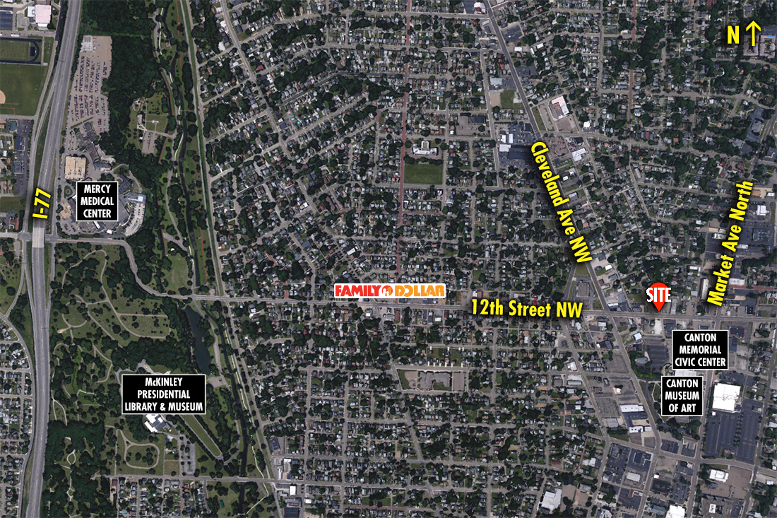 Site 1125, 215 12th Street NW, Canton, OH