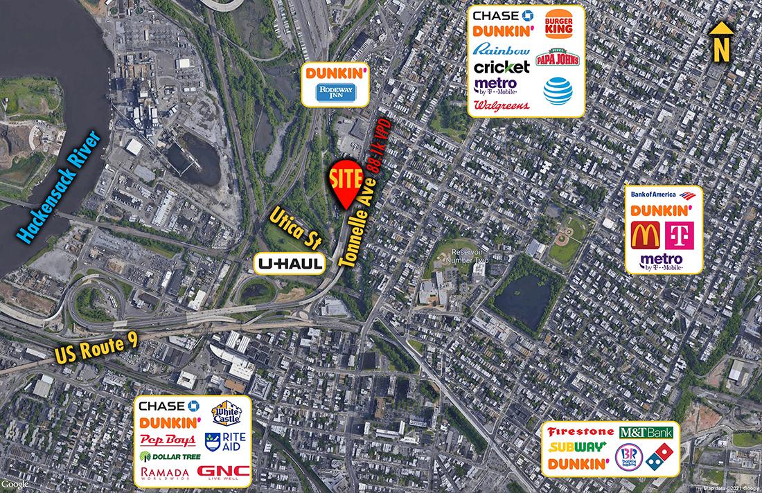 Site 1372, 361 Tonnelle Avenue, Jersey City, NJ