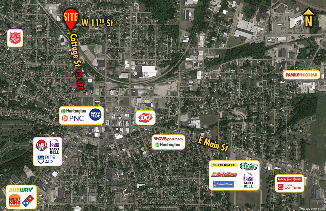 Site 1408, 630 Cottage Street, Ashland, OH
