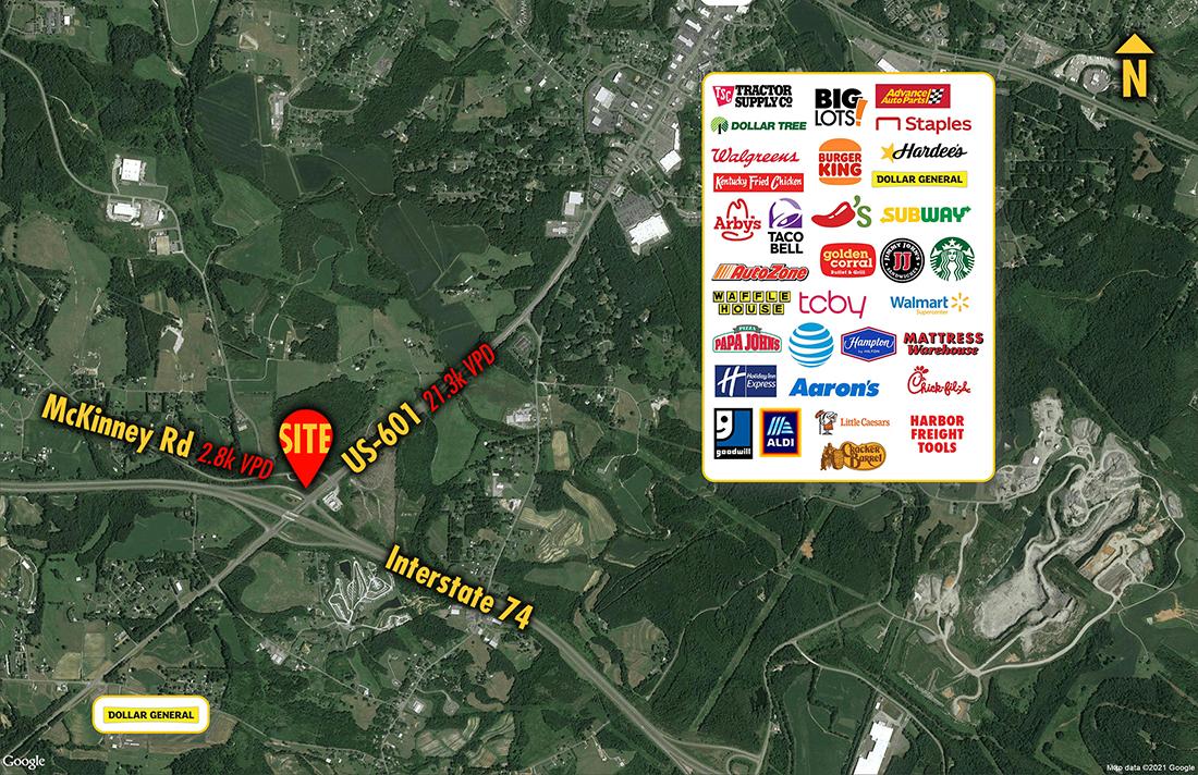 Site 1552, 153 McKinney Road, Mt. Airy, NC