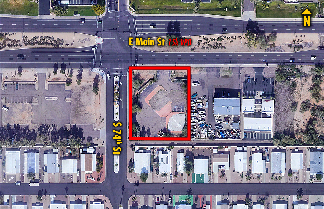 Site 1609, 7405 E Main Street, Mesa, AZ