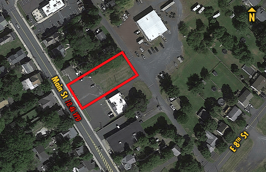 Site 17183, Main Street North of Montgomery, Pennsburg, PA