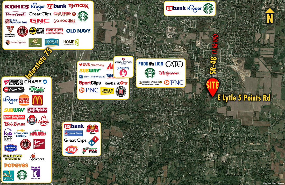 Site 1949, NEC SR 48 & Lytle 5 Points Road, Springboro, OH