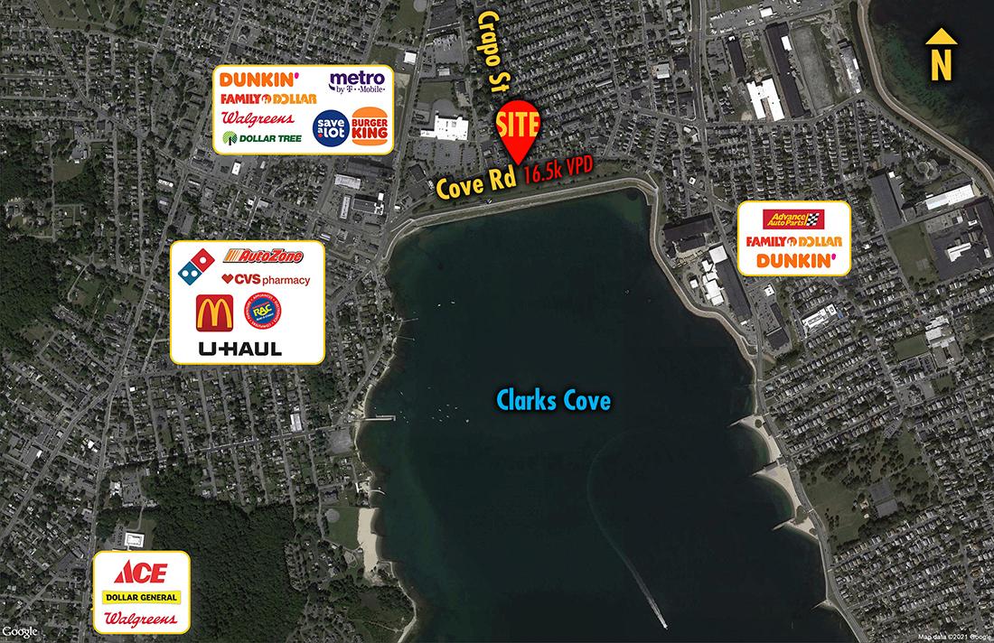 Site 2497, 1253 Cove Road    , New Bedford, MA