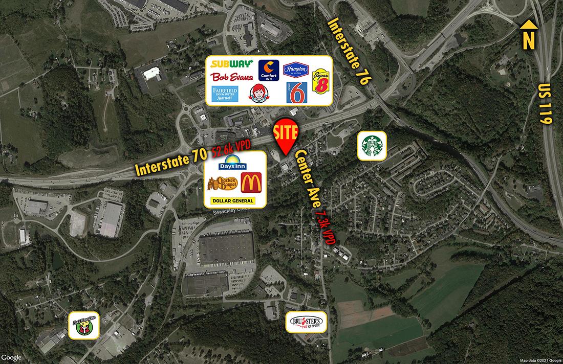 Site 2904, 105 N Center Avenue, New Stanton, PA