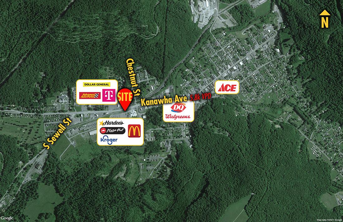 Site 3963, 626 Kanawha Avenue, Rainelle, WV