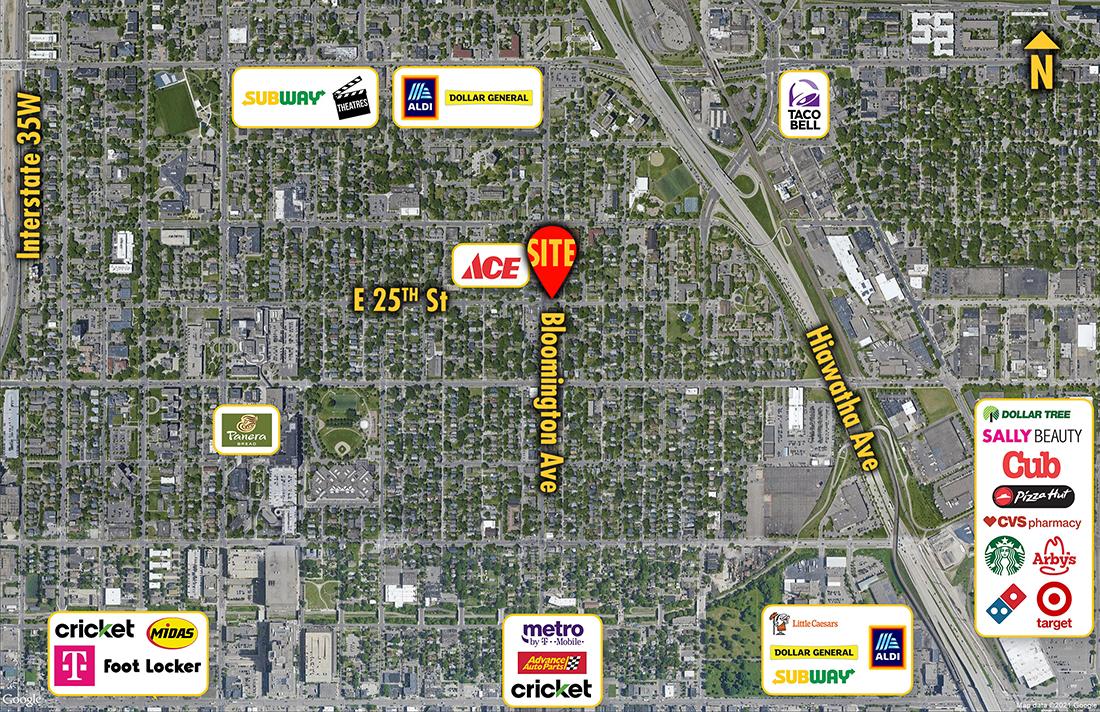 Site 4378, 2445 Bloomington Ave, Minneapolis, MN