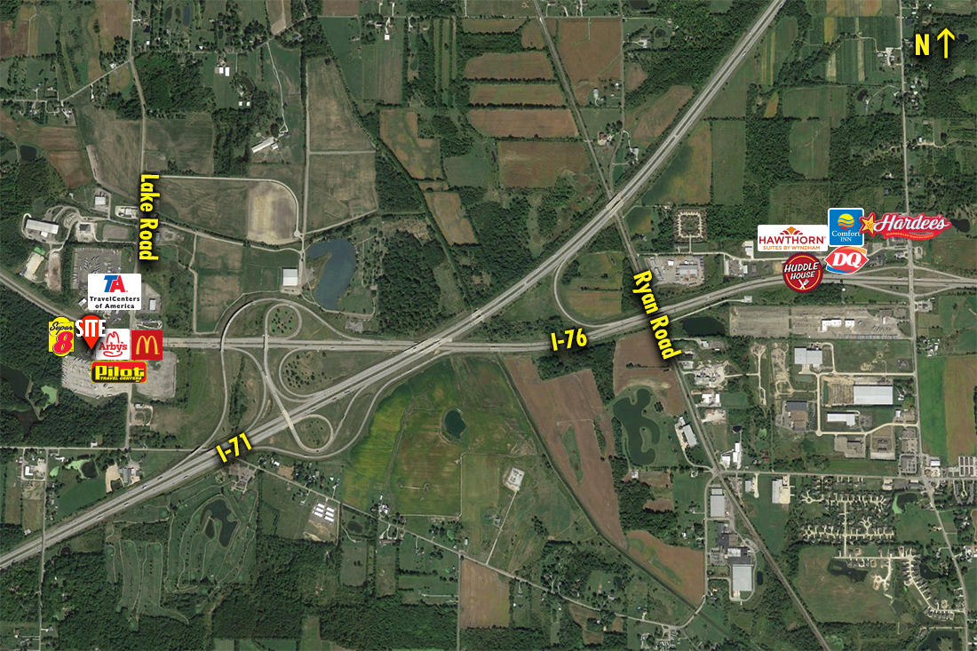 Site 5426, SEC US 224 & I-71/76, Seville, OH