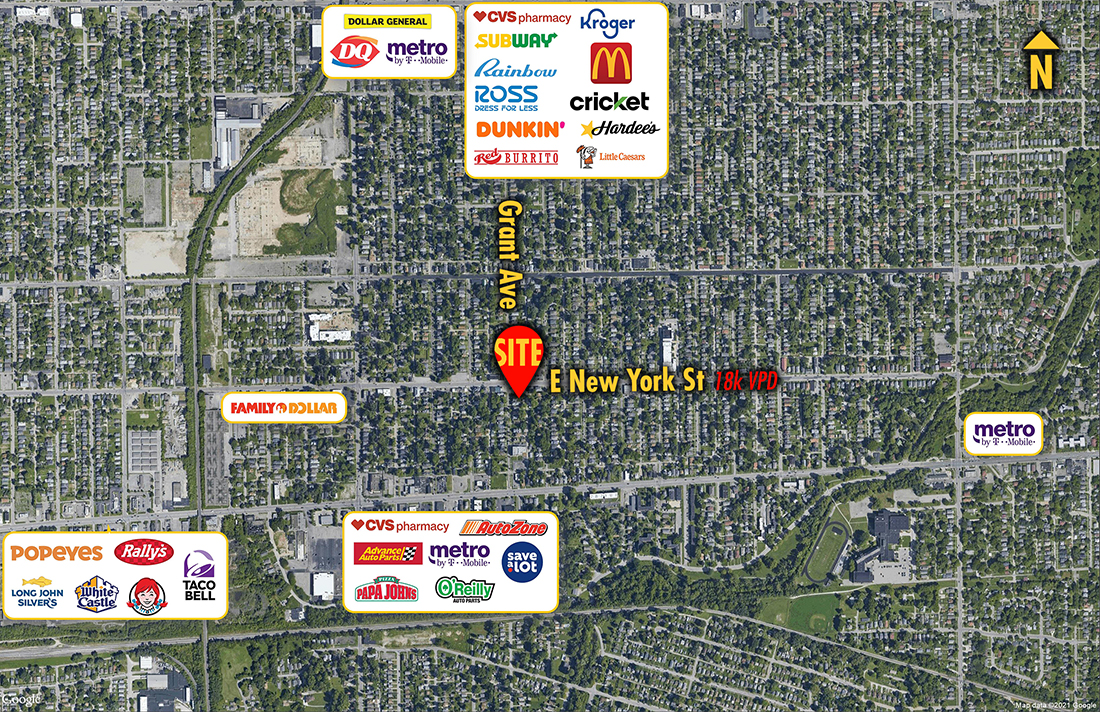 Site 6024, 4107 E New York Street, Indianapolis, IN
