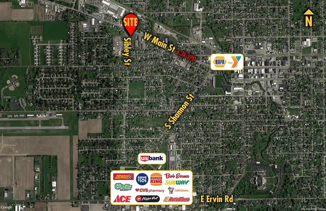 Site 6328, 840 W Main Street, Van Wert, OH