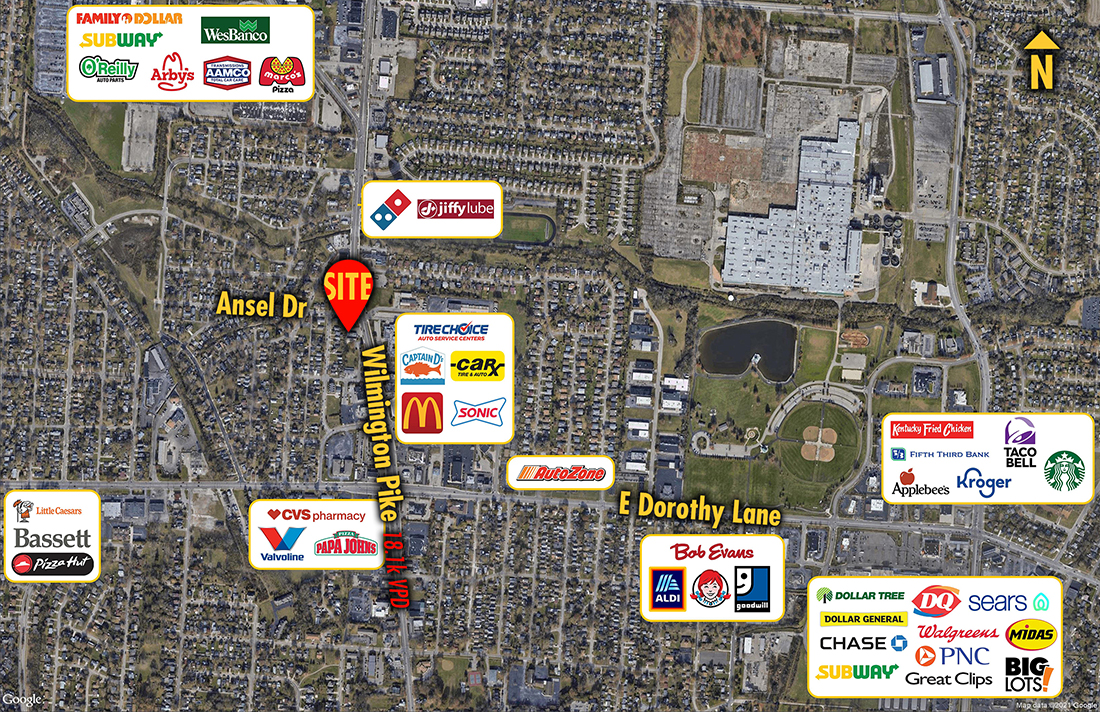 Site 6333, 2701 Wilmington Pike, Kettering, OH