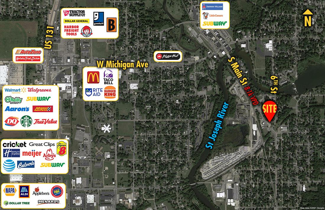 Site 7046, 418 S Main Street , Three Rivers, MI