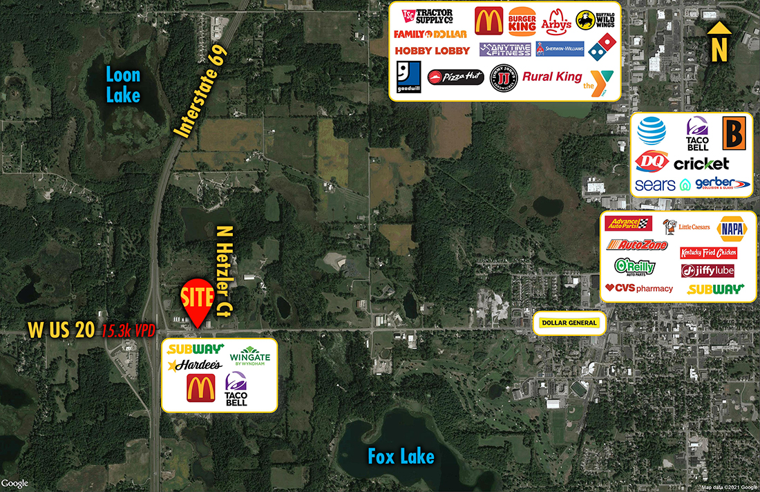 Site 8336, 2820 W US-20, Angola, IN