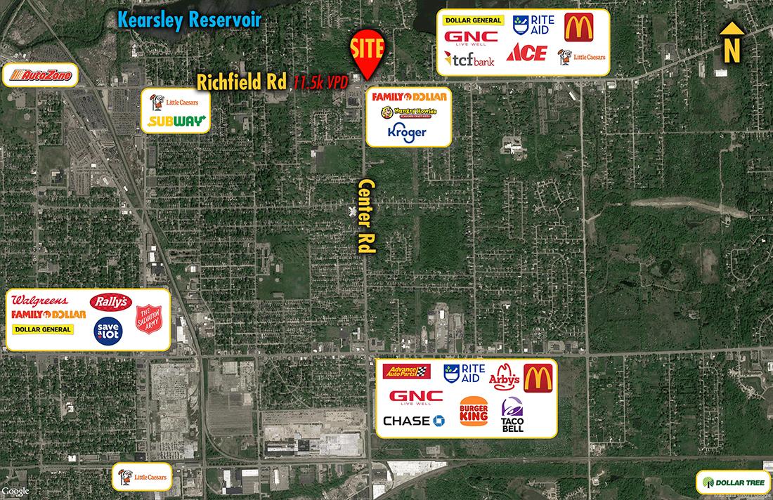 Site 8393, 4011 Richfield Road, Flint, MI
