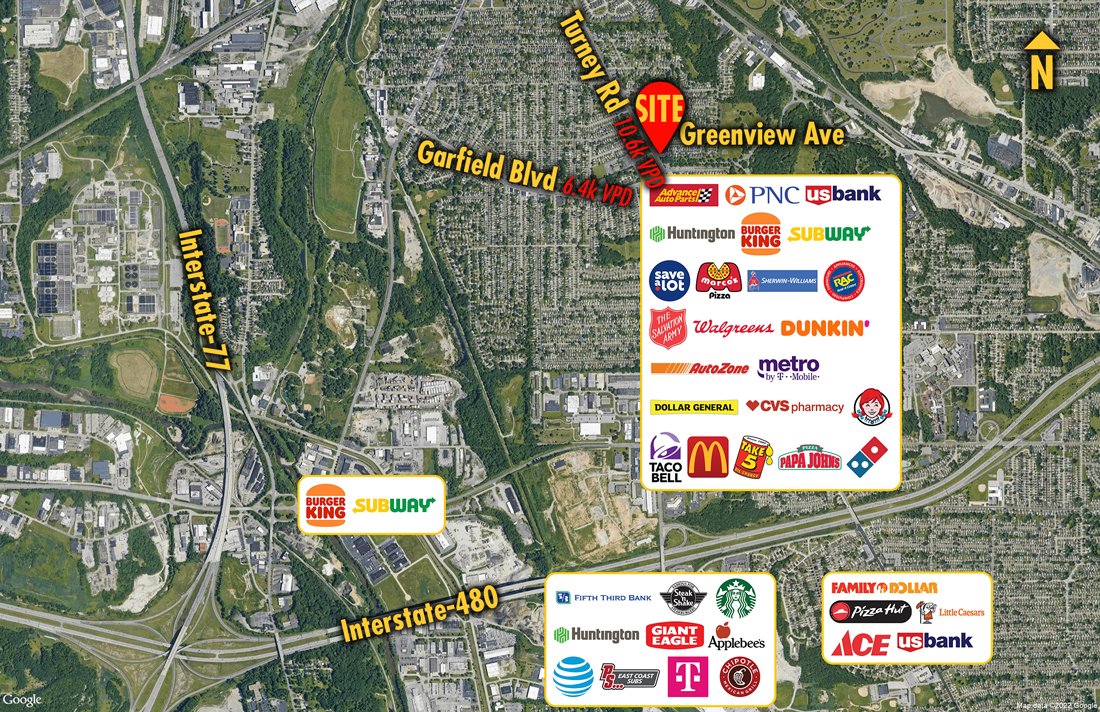 Site 8503, 4741 Turney Road, Garfield Heights, OH