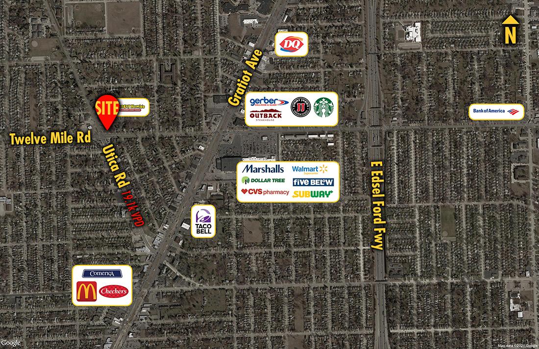 Site 8838, 29030 Utica Road, Roseville, MI