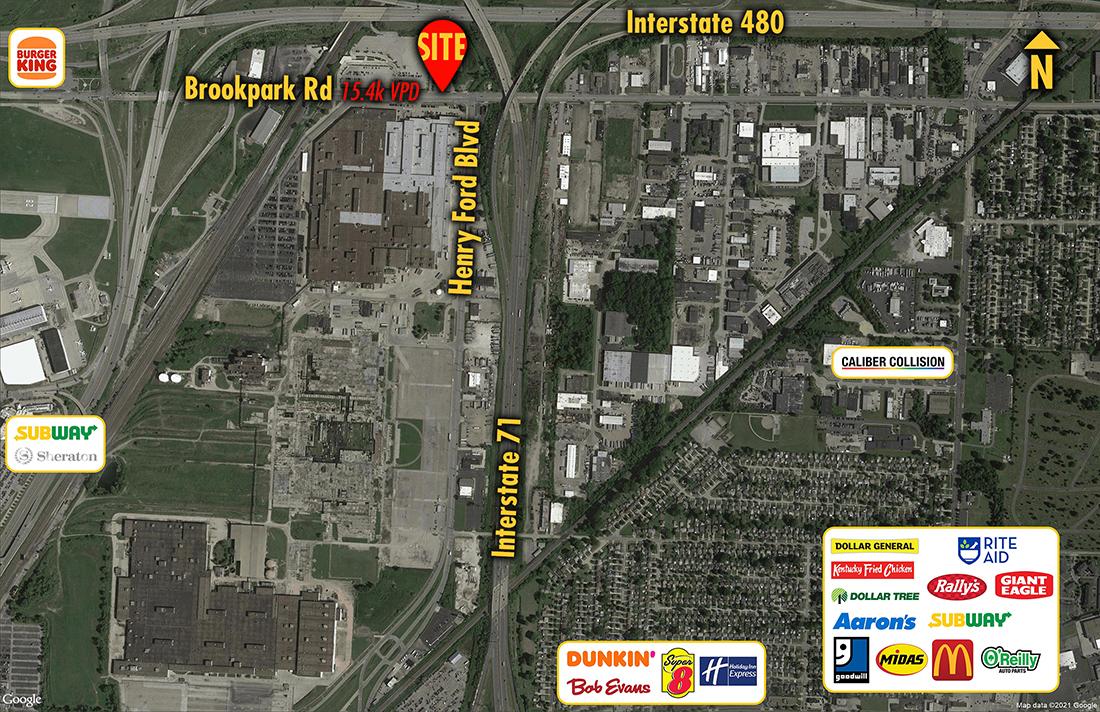 Site 9230, 17600 Brookpark Road, Brook Park, OH