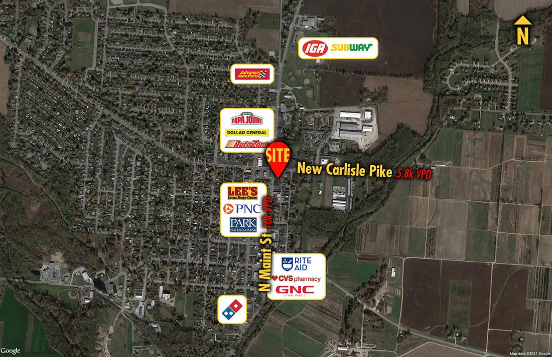 Site 9617, 324 N Main Street            , New Carlisle, OH