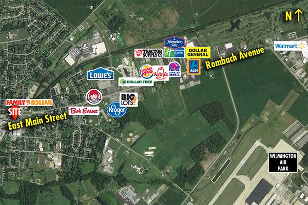 Site 1003, 340 E Main Street, Wilmington, OH