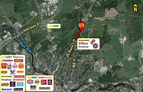 Site 1375, US- 11 South of SR-37, Watertown, NY