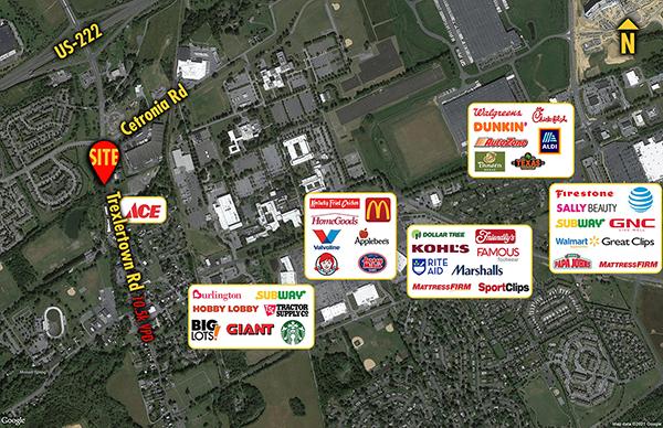 Site 1389, 1032 Trexlertown Road, Trexlertown, PA
