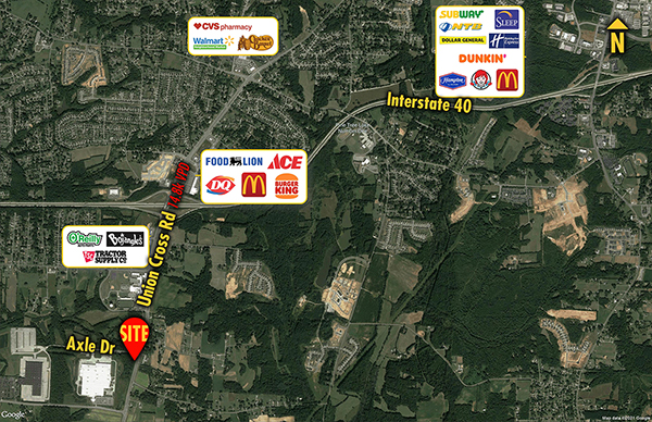 Site 1568, 1650 Union Cross Road, Kernersville, NC