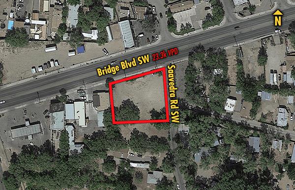 Site 1832, 1312 Bridge Boulevard SW, Albuquerque, NM