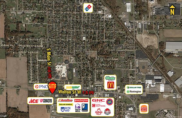 Site 3420, 415 W Walton Street W, Willard, OH