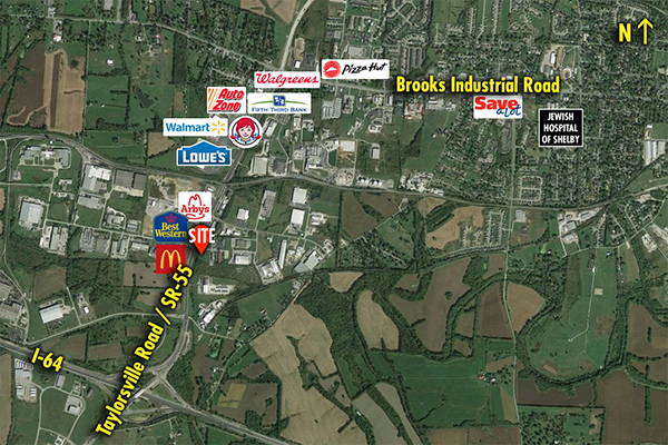 Site 3707, SEC KY Highway 55 & Howard Drive, Shelbyville, KY
