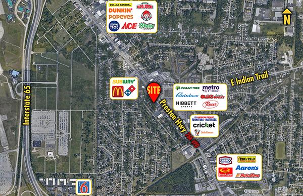 Site 3709, 5612  Preston Highway, Louisville, KY