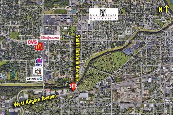 Site 6045, 2300 W Kilgore Avenue, Muncie, IN