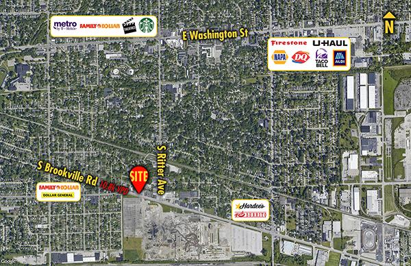 Site 6113, 5436 Brookville Road, Indianapolis, IN