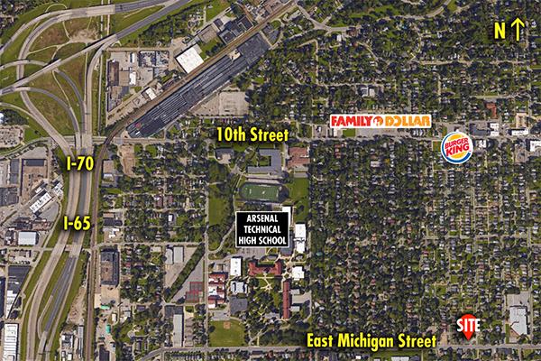 Site 6115, 2130 E Michigan Street, Indianapolis, IN