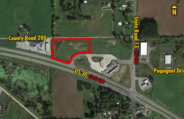 Site 6139, 2125 N SR-13 , Pierceton, IN