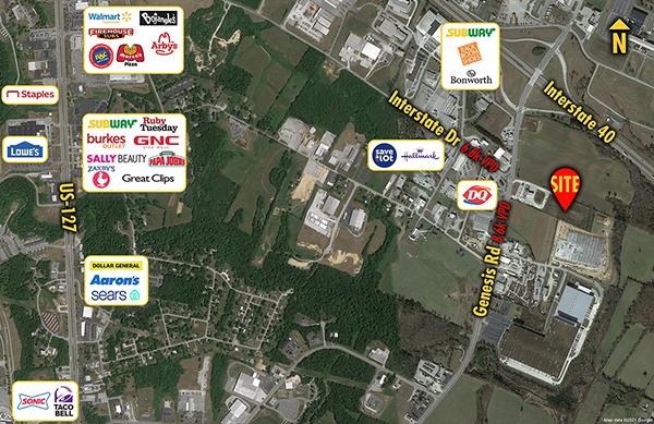 Site 7158, 1858 Genesis Road (back parcel), Crossville, TN
