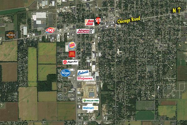 Site 7451, 401 W Chicago Road, Sturgis, MI
