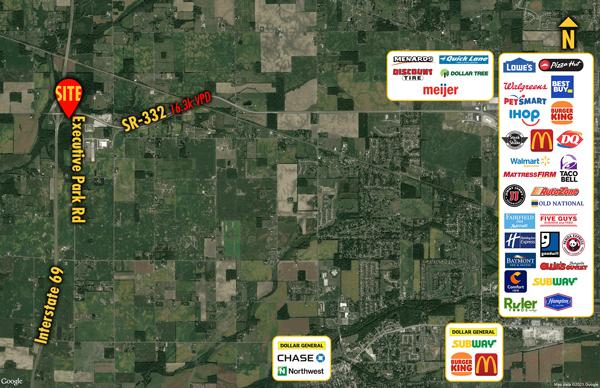 Site 8100, SWC SR 332 & Executive Park Road, Muncie, IN