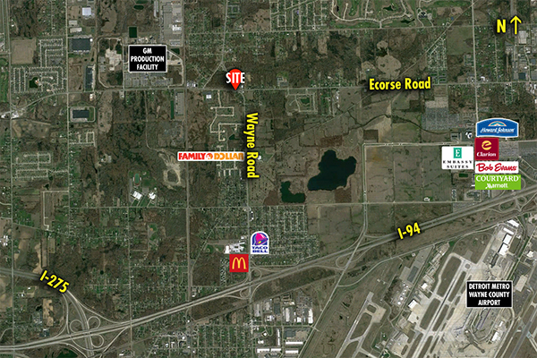 Site 8836, 7084 Wayne Road , Romulus, MI