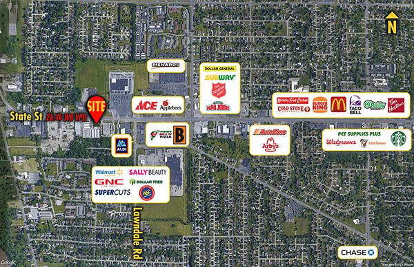 Site 8845, State Street West of Lawndale, Saginaw, MI
